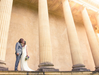Styled wedding photography at Stowe House