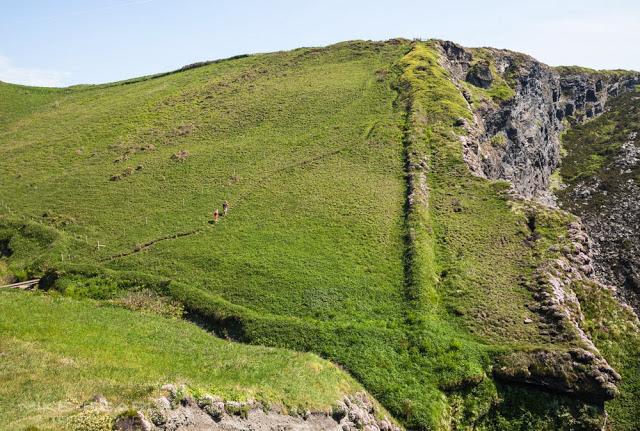 Cornish coast path near Port Isaac