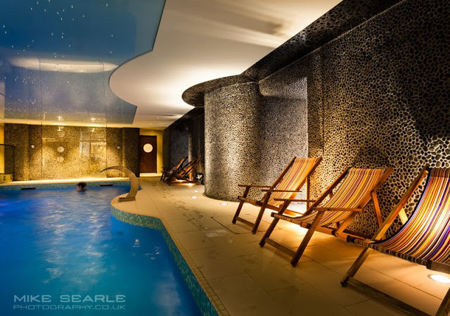 Interiors photography in The Headland Hotel Spa in Cornwall