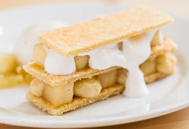 Dessert food photography