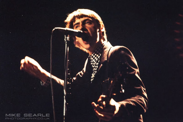 Paul weller of the jam photographed at Aylesbury Friars in 1979