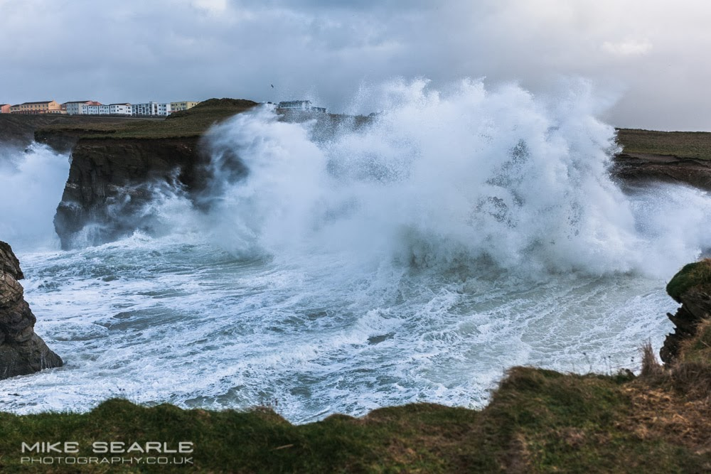 Storm in Cornwall