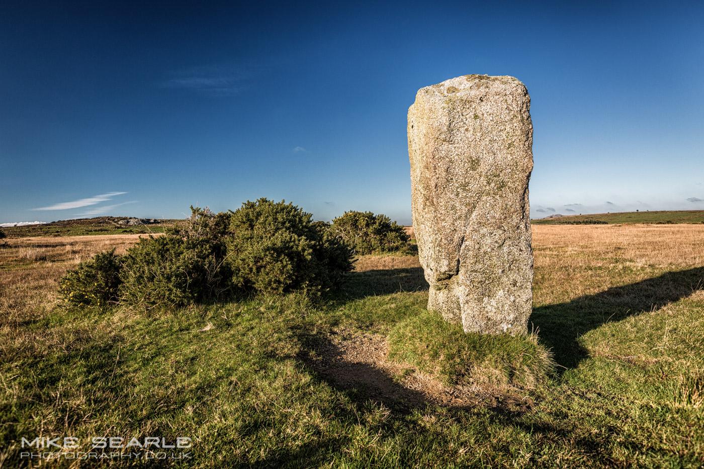 Trippett stones on Bodmin moor