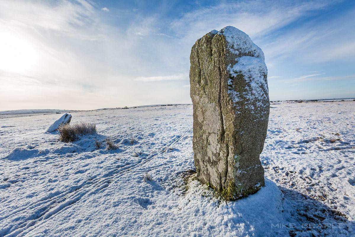Bodmin Moor in snow