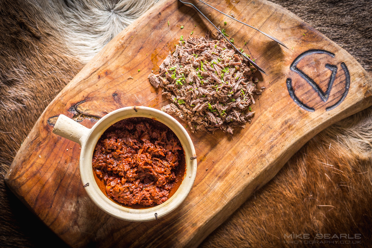 Venison at 7th rise food photographer cornwall