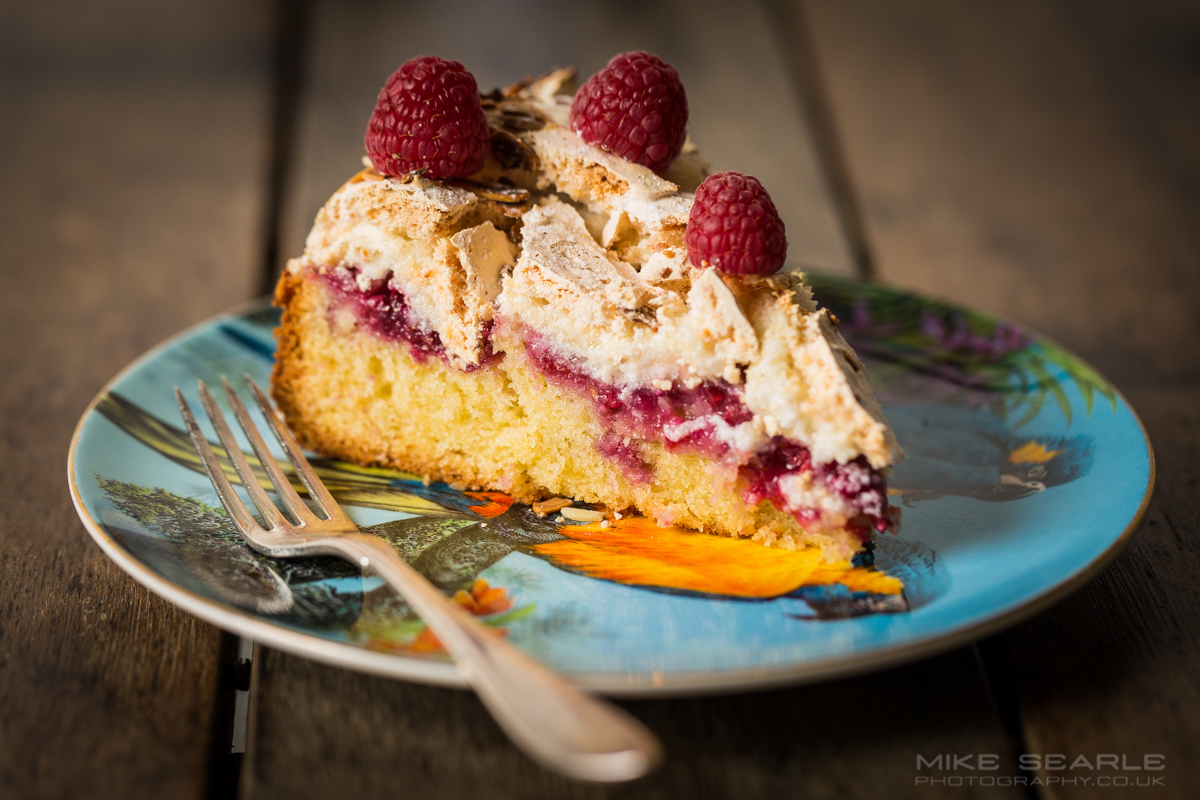 Mathilda's Raspberry and Meringue Cake