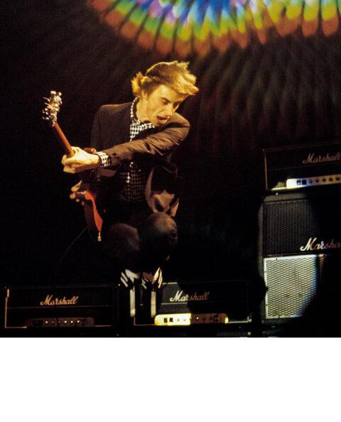 Paul Weller The Jam jumping 1979 buy print