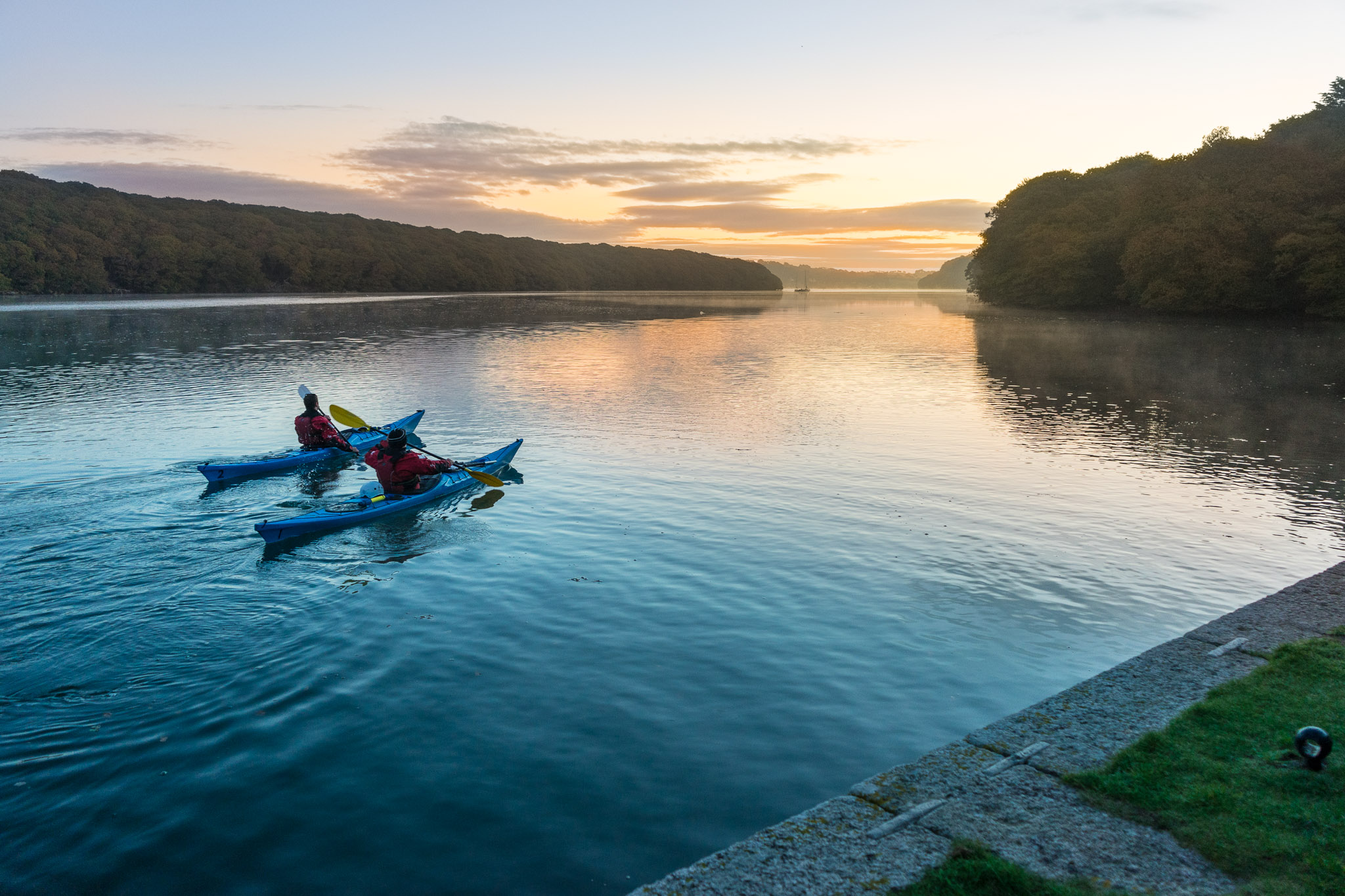 Helford cornwall kayaking
